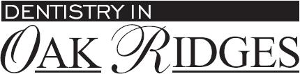Dentistry in Oak Ridges logo